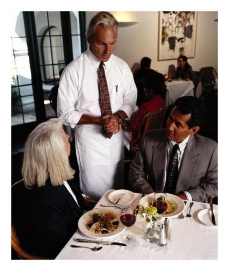 Общие правила для персонала торгового зала ресторана / кафе